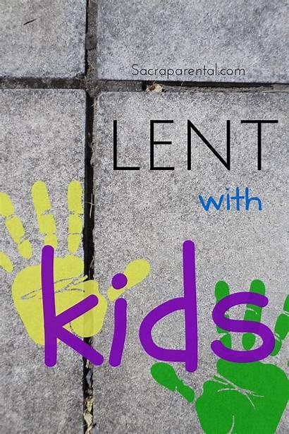 Lent Sacraparental Children Sunday Activities Easter Crafts