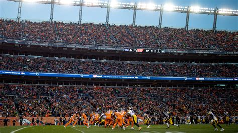 The stadium was most recently called broncos stadium. Broncos Stadium at Mile High changes to new name after ...