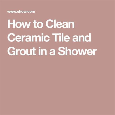 1000 ideas about clean shower grout on