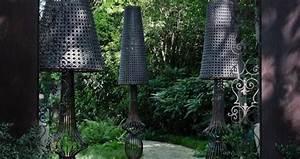 Lampadaire De Jardin : lampadaire de jardin led en fer sole de samuele mazza paperblog ~ Teatrodelosmanantiales.com Idées de Décoration