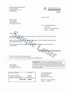 Collection agency letter sample cover letter samples for Debt collection letter templates free