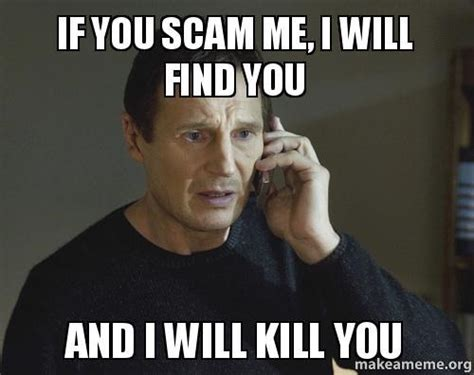 Scam Meme - megan maffick this blog is about infinite ramblings of my life