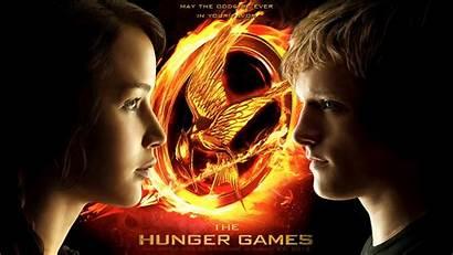 Hunger Games Katniss Peeta Wallpapers Fire Artist