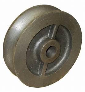 Serrurier Grasse 06 : galet fonte 80 mm gorge ronde 16 mm moyeu 14 larg 26 mm ~ Premium-room.com Idées de Décoration