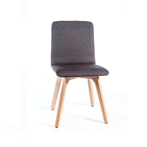 chaise tissu salle a manger chaise bois salle a manger maison design modanes com
