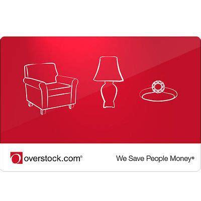 details  overstockcom gift card
