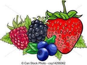 Berry Cartoon Clip Art