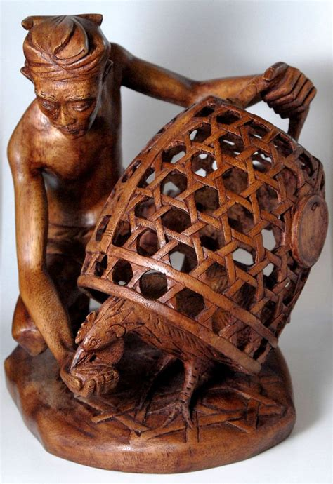 wood carvers  amazing wooden carved art bali