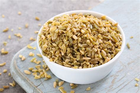 what is freekeh freekeh salad with kale tomatoes garlic scapes mississippi market