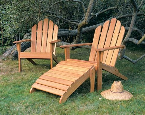 adirondack chair and ottoman fascinating teak adirondack chair and ottoman cedar