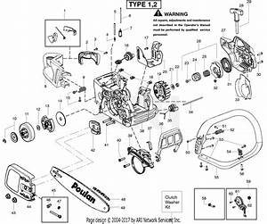 Poulan P4018avbh Gas Chain Saw Parts Diagram For Starter