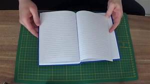 Buch Selber Binden Spirale : diy buchbinden ledereinband selber machen youtube ~ Frokenaadalensverden.com Haus und Dekorationen