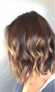 Ombré Hair Chatain : brunette ombre on short hair haircuts pinterest hair ~ Nature-et-papiers.com Idées de Décoration