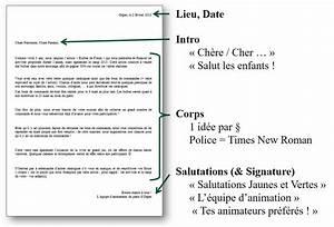 Lettre Du Président Aux Français : comment crire une lettre exemple de lettre professionnelle lamalledumartroi ~ Medecine-chirurgie-esthetiques.com Avis de Voitures