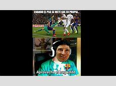 Memes en Facebook de la victoria del Barcelona sobre PSG