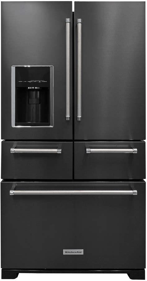 Kitchenaid Fridge Filter by Kitchenaid Krmf706ebs Refrigerator Review Reviewed