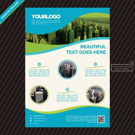 Brochure Template Design Free by Brochure Template Design Vector Free