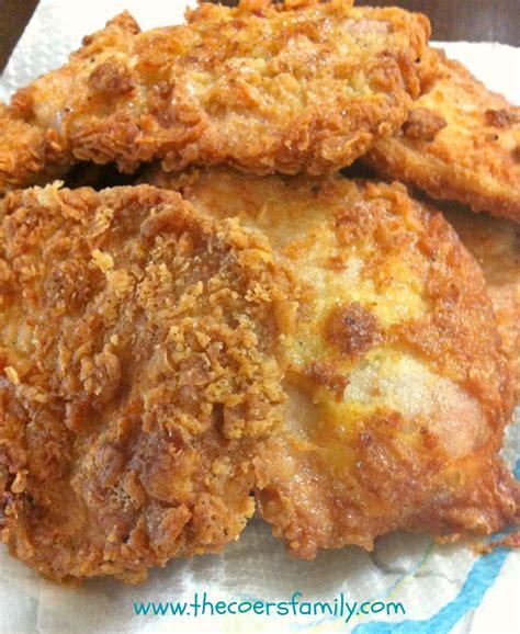 how do you pan fry pork chops country fried pork chops the coers family