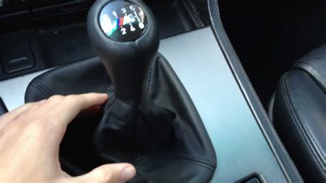 19972003 Bmw E39 5 Series Shift Knob Upgrade Youtube