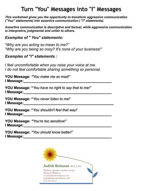 ot mental health worksheets printables on