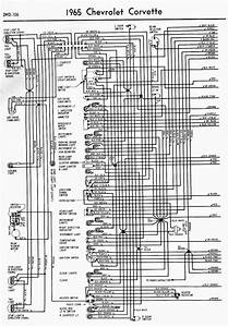 Wiring Diagram For 1965 Chevrolet Corvette Part 1