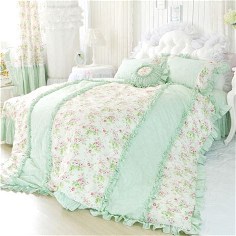 mint green shabby chic bedding hime bonbonbunny page 2