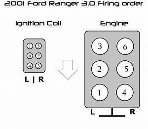 Wierd Firing Order On 01 Ford Ranger 3 0v6
