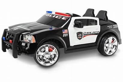 Police Dodge Kid Ride Cars Toys Trax