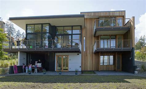 home blueprints for sale three level waterfront modern home bainbridge island