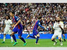Real Madrid 23 Barcelona Messi scores dramatic winner