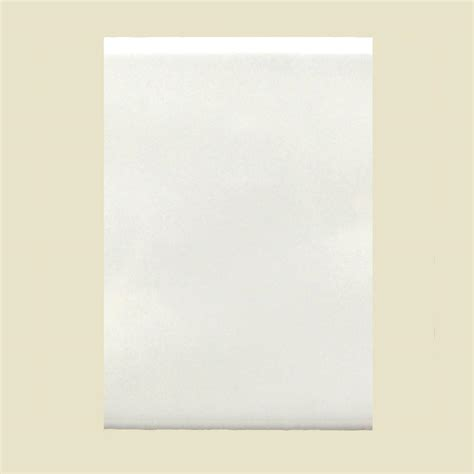 daltile semi gloss white 6 in x 8 in ceramic wall tile