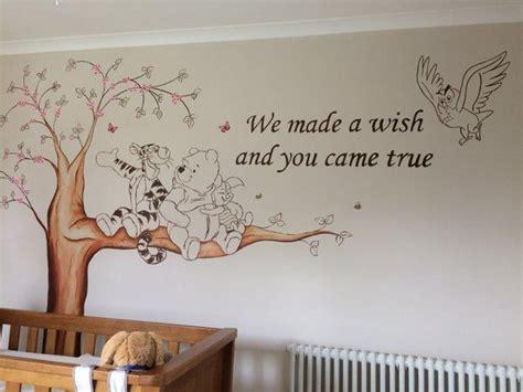 vintage winnie the pooh nursery decor winnie the pooh nursery murals www custommurals co uk