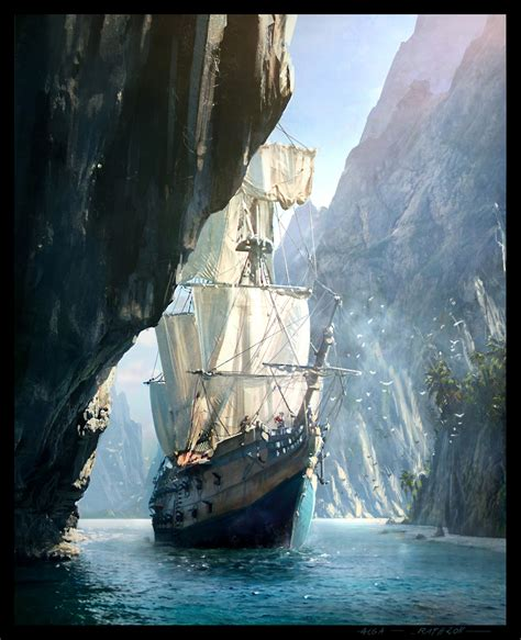 Assassins Creed Iv Black Flag Concept Art By Raphael