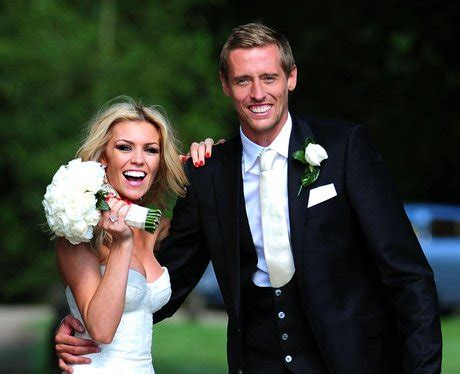 peter crouch  abbey clancys wedding peter crouch