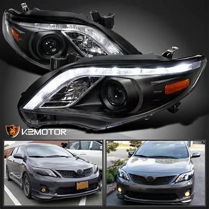 Headlights Corolla Toyota Enlarge Projector Led
