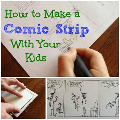 create  comic strip   kids   easy steps create  comic comic strips