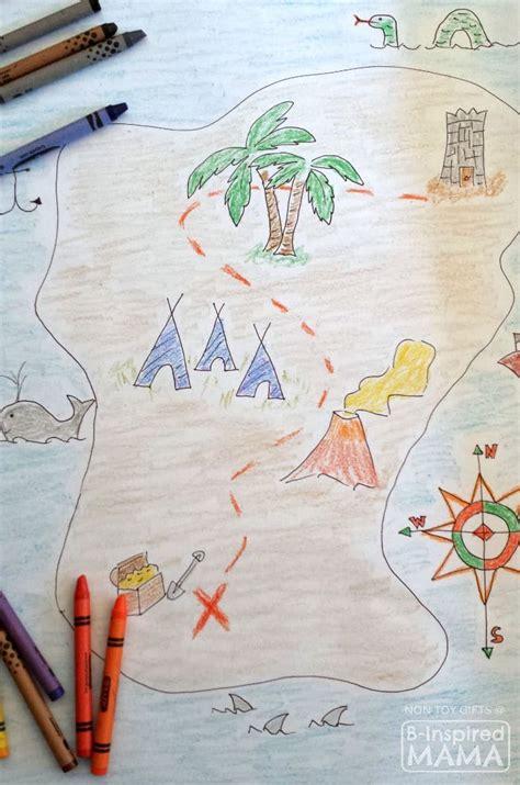 treasure map  play  decor