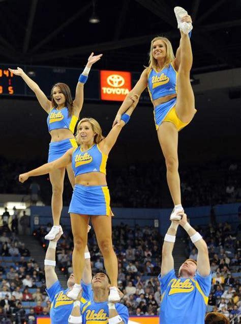ucla cheerleaders  flexible paperblog