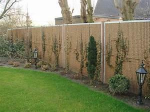 Palissade Anti Bruit : mur anti bruit jardin mur antibruit finition bois ~ Premium-room.com Idées de Décoration