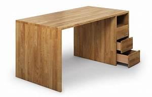 Schreibtisch Massivholz Eiche : santos aus eiche schreibtisch nach ma ~ Whattoseeinmadrid.com Haus und Dekorationen