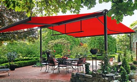 Free-standing Exterior Awning Shade