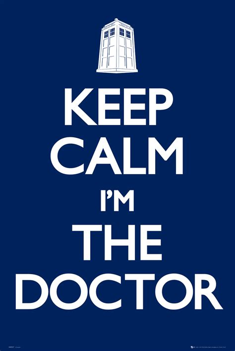 doctor  poster  calm im  doctor