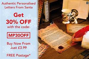 make christmas special with a magic santa letter morgan With christmas letters from santa discount code