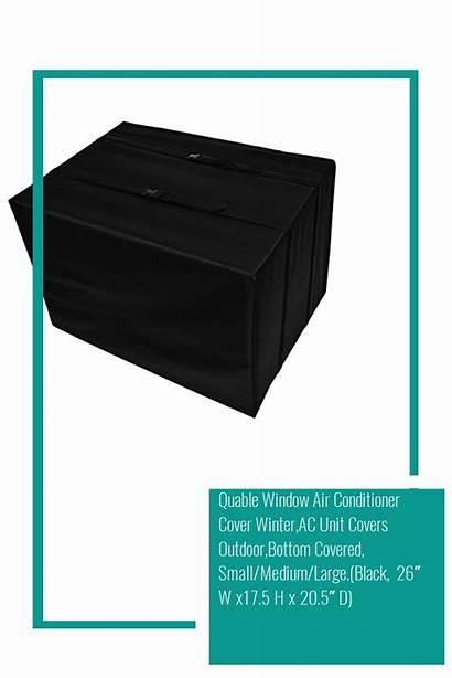 Window Unit Conditioner Air Covers Rain Winter