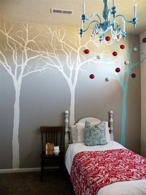 Interior Creative Diy Wall Painting Expressing Artistic
