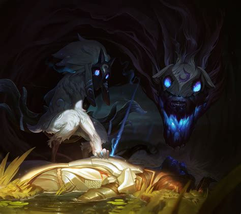 Kindred Animated Wallpaper - kindred lol wallpaper 2880x2560