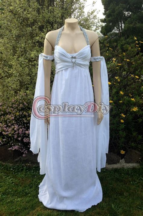 cosplaydiy custom made of thrones daenerys targaryen khaleesi daenerys wedding dress famale