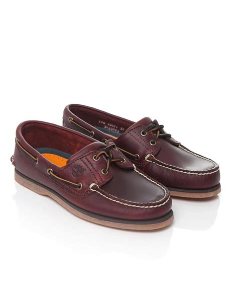 Leather Boat Shoes by Timberland Brown Leather Boat Shoes Available At Jules B