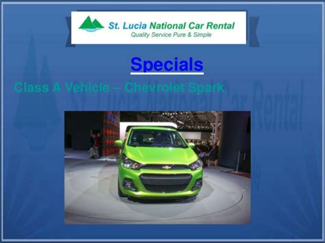 St Car Rentals by St Lucia National Car Rental Services