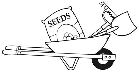 gardening clipart black and white free landscape tools cliparts free clip